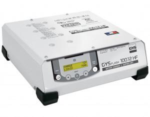 GYSFLASH 100.12 HF inverteres akkumulátor töltő (5 m kábel) termék fő termékképe