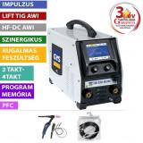 GYS TIG 220 AC/DC HF FV levegő hűtéses hegesztő inverter (ADB1)