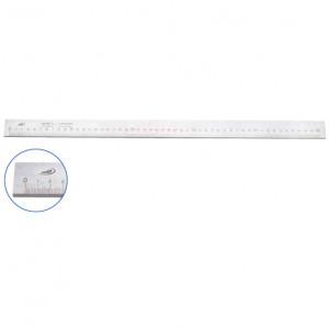 Helios-Preisser Ellenőrző acél hosszmérő, DIN 866-A, mm osztással, 500 mm (0451101) termék fő termékképe