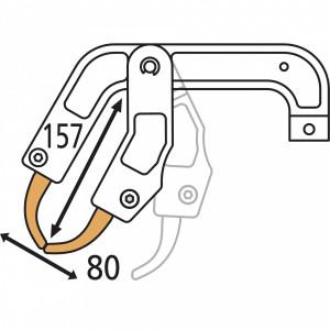 GYS RC4 ponthegesztő kar nehezen hozzáférhető helyekhez termék fő termékképe