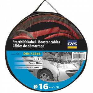 GYS Indítókábel 2x3m 16mm2 320A termék fő termékképe