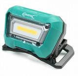 COMPAC Hydraulik 060260 tölthető USB okos szerelőlámpa, LED + szenzor, zöld, 3 W, 280 lm