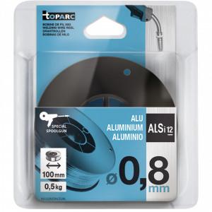 GYS AlSi12 hegesztő huzal, 0.8 mm, 0.5kg/tekercs termék fő termékképe