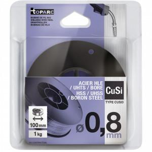 GYS CuSi3 hegesztő huzal, 0.8 mm, 1kg/tekercs termék fő termékképe