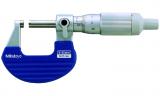 Mitutoyo Mikrométer racsnis dobbal, 0-25 mm, 0.001 mm (102-707)