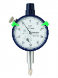 Mitutoyo Mutatós mérőóra, Sorozat 1, Ø40 mm, 5 mm, 0.01 mm (1044SB)