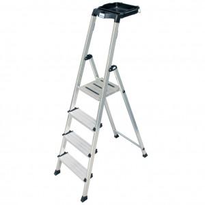 Krause MONTO Secury egy oldalon járható lépcsőfokos állólétra, 4 fokos termék fő termékképe