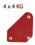 GYS P16.90 mágneses szögbeállító, 4x4 kg, 4db/csomag