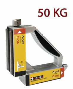 GYS D50.90 mágneses szögbeállító (duplán demagnetizálható), 50 kg termék fő termékképe