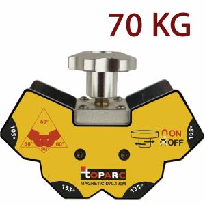 GYS D70.120M mágneses szögbeállító (demagnetizálható), 70 kg termék fő termékképe