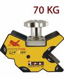 GYS D70.135M mágneses szögbeállító (demagnetizálható), 70 kg