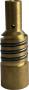 Közdarab P200, M10x1 jobb menetes