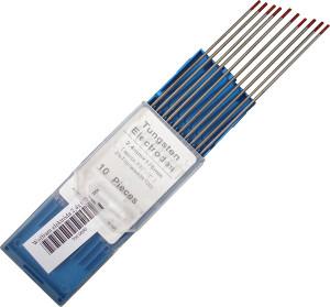 Wolfram elektróda: 175x2,0 mm piros termék fő termékképe
