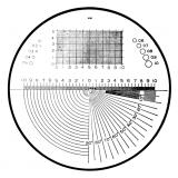 Mitutoyo Mérőlap precíziós nagyítókhoz, Ø30 mm (183-105)