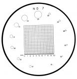 Mitutoyo Mérőlap precíziós nagyítókhoz, Ø30 mm (183-108)