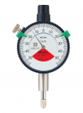 Mitutoyo Mutatós mérőóra 1 körülfordulással, Sorozat 1, IP52, Ø40 mm, 0.1 (dugattyú út: 2), 0.001 mm (1900SB-72)