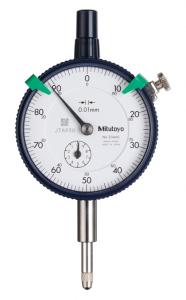 Mitutoyo Mutatós mérőóra, Sorozat 2, Ø57 mm, 10 mm, 0.01 mm (2046SB) termék fő termékképe