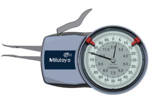 Mitutoyo Tapintókaros mérőóra 0.1 mm sugarú keményfém kúp tapintóval, belső méréshez, IP65, 2.5-12.5 mm, 0.005 mm (209-300) termék fő termékképe