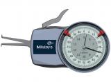 Mitutoyo Tapintókaros mérőóra Ø0.6 mm keményfém gömb tapintóval, belső méréshez, IP65, 5-15 mm, 0.005 mm (209-301)