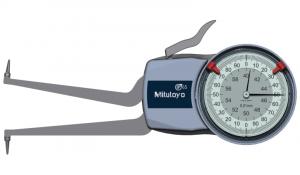 Mitutoyo Tapintókaros mérőóra Ø1.0 mm keményfém gömb tapintóval, belső méréshez, IP65, 40-60 mm, 0.01 mm (209-305) termék fő termékképe