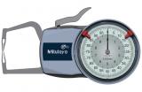 Mitutoyo Tapintókaros mérőóra Ø1.5 mm keményfém gömb tapintóval, külső méréshez, IP65, 0-10 mm, 0.005 mm (209-402)