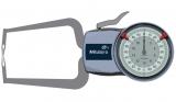 Mitutoyo Tapintókaros mérőóra Ø1.5 mm keményfém gömb tapintóval, külső méréshez, IP65, 0-20 mm, 0.01 mm (209-404)