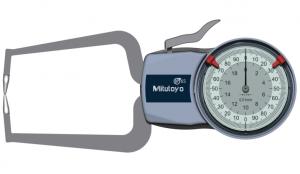 Mitutoyo Tapintókaros mérőóra Ø1.5 mm keményfém gömb tapintóval, külső méréshez, IP65, 0-20 mm, 0.01 mm (209-404) termék fő termékképe