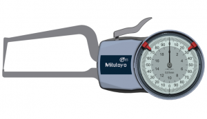 Mitutoyo Tapintókaros mérőóra Ø1.5 mm keményfém gömb és 0.4 mm sugarú kúp tapintóval, külső méréshez, IP65, 0-20 mm, 0.01 mm (209-406) termék fő termékképe