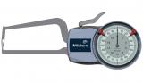 Mitutoyo Tapintókaros mérőóra Ø1.5 mm keményfém gömb tapintóval, külső méréshez, IP65, 0-20 mm, 0.01 mm (209-407)