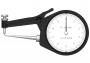 Mitutoyo Tapintókaros mérőóra Ø2 mm keményfém gömb és 0.5 mm sugarú edzett acél tapintóval, külső méréshez, IP65, 0-10 mm, 0.1 mm (209-603)