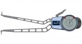 Mitutoyo Tapintókaros mérőóra Ø2.0 mm keményfém gömb tapintóval, belső méréshez, IP65, 40-90 mm, 0.05 mm (209-902)