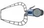 Mitutoyo Tapintókaros mérőóra Ø2 mm keményfém gömb tapintóval, külső méréshez, IP65, 0-50 mm, 0.05 mm (209-911)