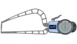 Mitutoyo Tapintókaros mérőóra Ø3 mm keményfém gömb tapintóval, külső méréshez, IP65, 0-50 mm, 0.05 mm (209-912)