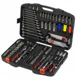 """Welzh Werkzeug 2588-WW extra felszereltségű szerszám készlet, 1/4"""", 3/8"""", 1/2"""", 218 részes"""