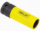"""Welzh Werkzeug 2661-19-WW 1/2""""-os 6-lapú légkulcsfej alufelnihez, Lok-Typ, 19 mm"""