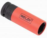 """Welzh Werkzeug 2661-21-WW 1/2""""-os 6-lapú légkulcsfej alufelnihez, Lok-Typ, 21 mm"""