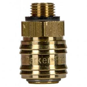 Rectus 26 -os szériájú külső menetes (G 1/8) gyorscsatlakozó (aljzat) termék fő termékképe