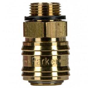 Rectus 26 -os szériájú külső menetes (G 3/8) gyorscsatlakozó (aljzat) termék fő termékképe