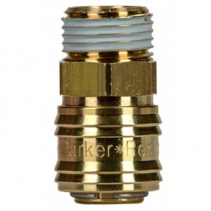 Rectus 26 -os szériájú külső menetes (G 1/2) gyorscsatlakozó (aljzat) termék fő termékképe