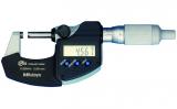 Mitutoyo Digimatic mikrométer racsnis dobbal, IP65, 25-50 mm, 0.001 mm (293-235-30)