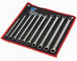 Welzh Werkzeug 2970-WW racsnis csillagkulcs készlet, egyenes, extra hosszú, metrikus, 10 részes