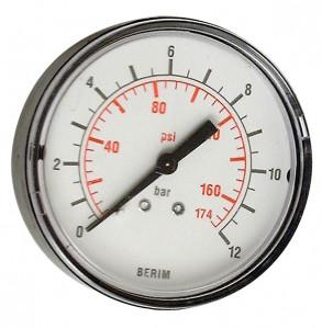 """Betta 3300/3 manométer, 0-12 bar, 1/4"""" termék fő termékképe"""