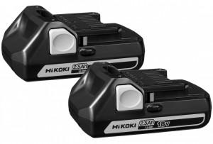 HiKoki BSL1825 csúszótalpas Li-ion akkumulátor, 18V, 2.5Ah, 2db/csomag termék fő termékképe