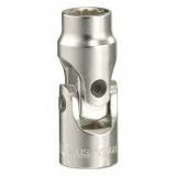 "Genius Tools 355610 3/8""-os 12 lapú csuklós dugókulcs, 10 mm"