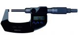 Mitutoyo Digimatic külső mikrométer nem-forgó orsóval és racsnival, 0-25 mm, 0.001 mm (406-250-30)