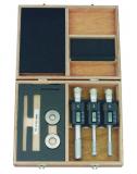 Mitutoyo Digimatic Holtest 3-ponton mérő belső mikrométer készlet, IP65, 12-16 / 16-20 / 20-25 mm, 0.001 mm (468-982)