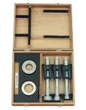 Mitutoyo Digimatic Holtest 3-ponton mérő belső mikrométer készlet, IP65, 25-30 / 30-40 / 40-50 mm, 0.001 mm (468-983)