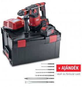 Flex CHE 2-26 18.0-EC/5.0 Set akkus SDS-plus fúró-vésőkalapács + AJÁNDÉK véső- és fúrószár szett (2 x 5.0 Ah Li-ion akkuval) termék fő termékképe
