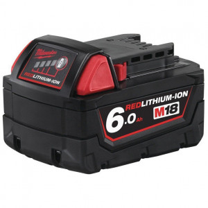 Milwaukee M18 B6 REDLITHIUM-ION™ akkumulátor, 18 V, 6.0 Ah termék fő termékképe
