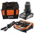 AEG SETL1240BLK 12 V-os akkumulátor szett